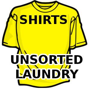 Shirts - Unsorted Laundry