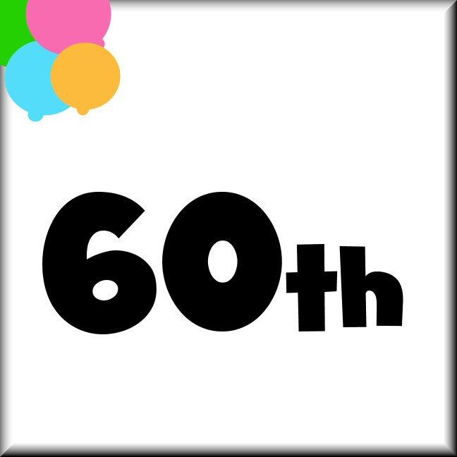 60th Birthday