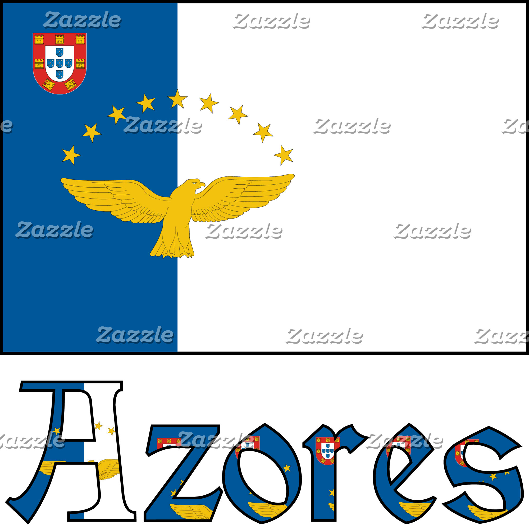 Azorian Flag and Azores
