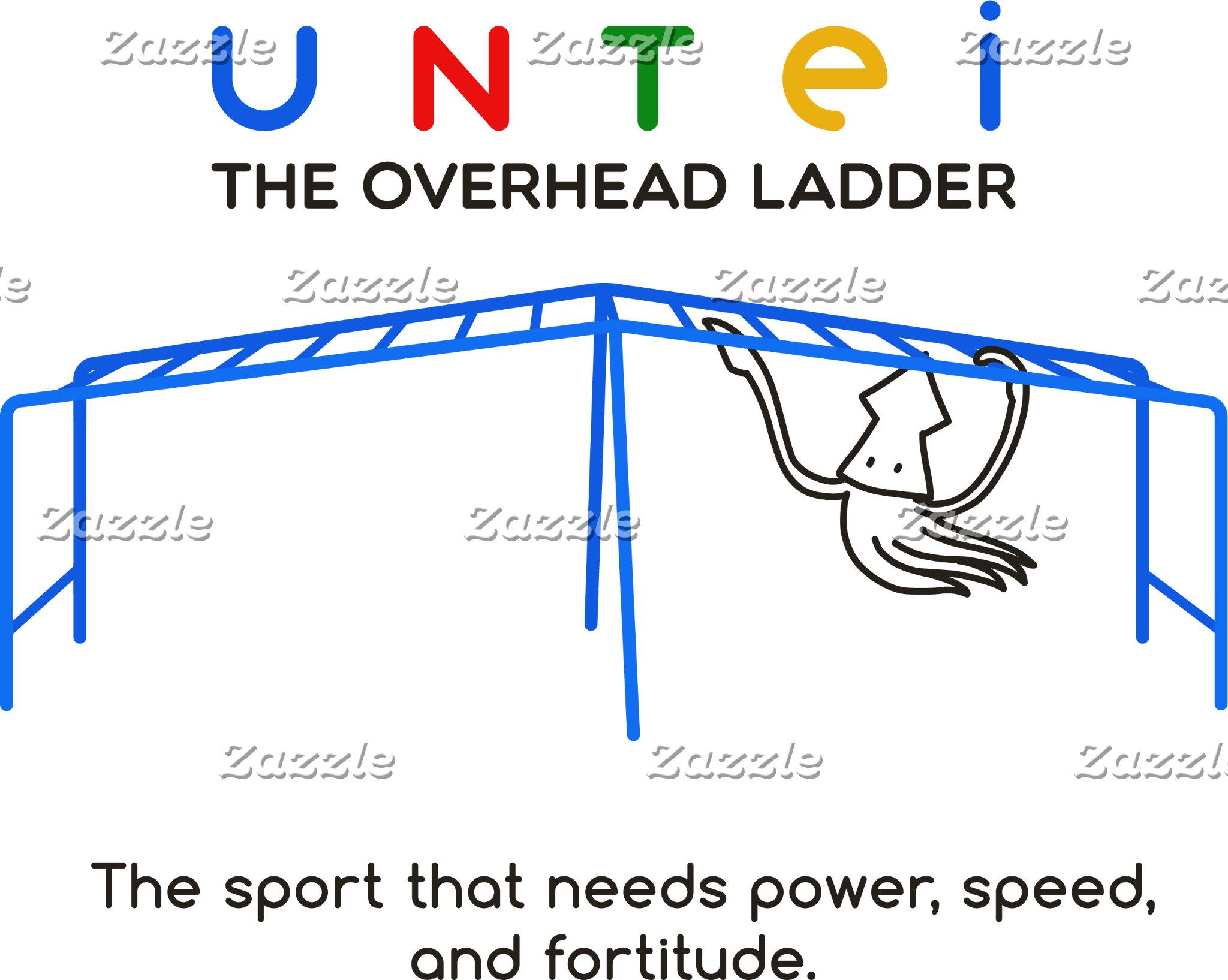 【雲梯するイカ】 A squid who plays overhead ladder