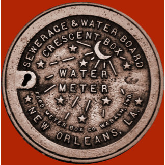New Orleans Water Meter Cover