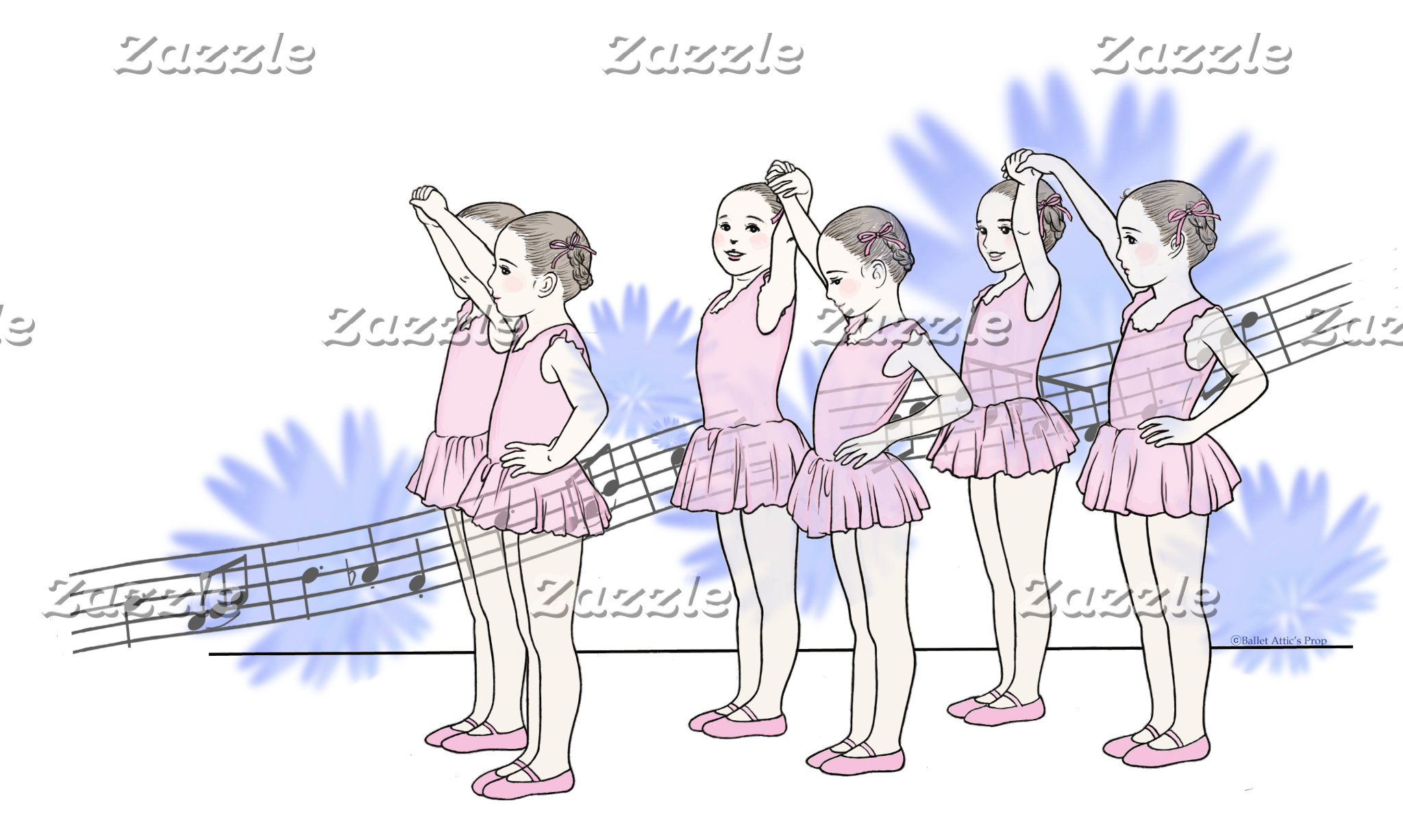 Ballet girls バレエ少女