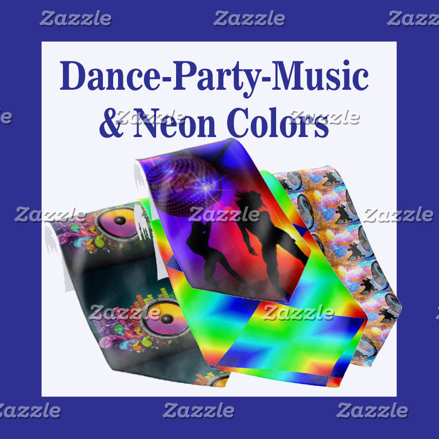 Dance | Party | Music | Neon Colors
