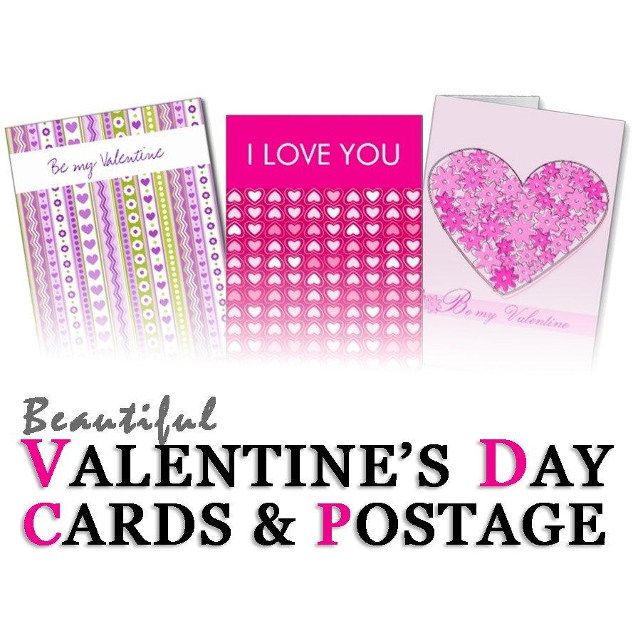 Valentine's day Cards & Postage