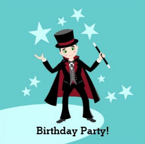 Magician Kid Birthday Party Theme