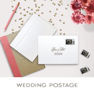 Wedding Postage