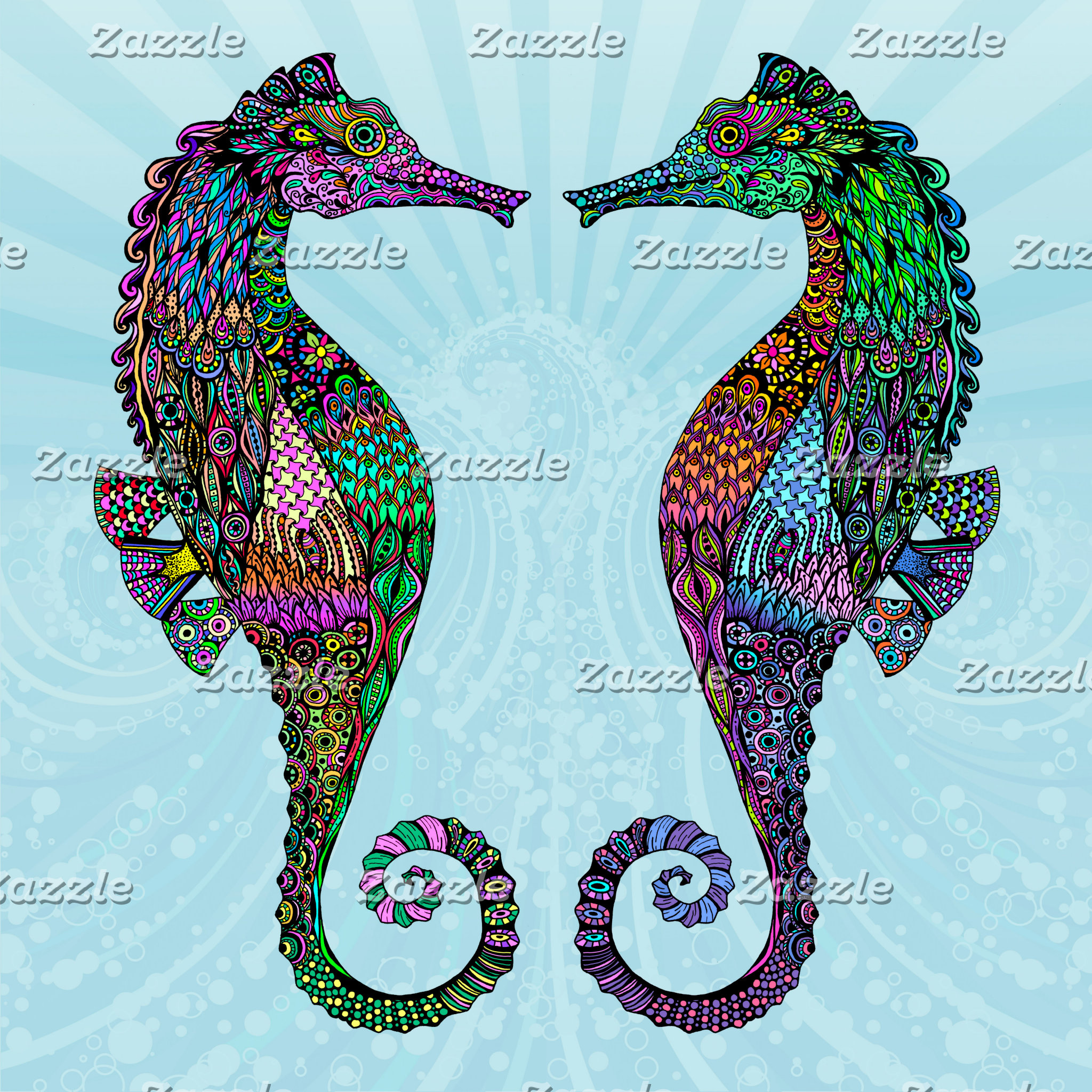 Electric Seahorses