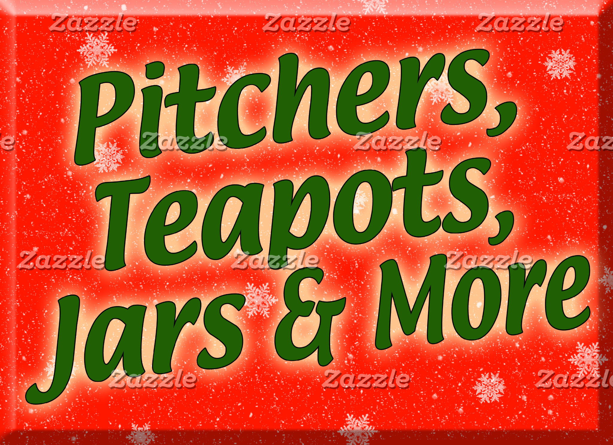 Holiday Pitchers, Teapots, Jars and More