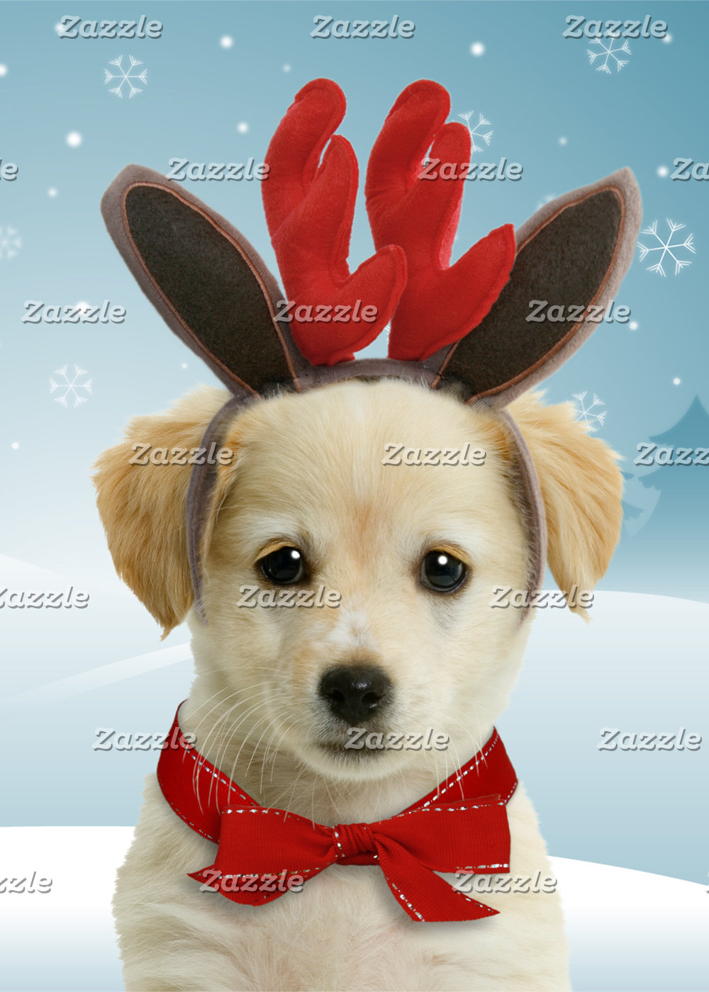 Reindeer Puppy Cards and Gifts