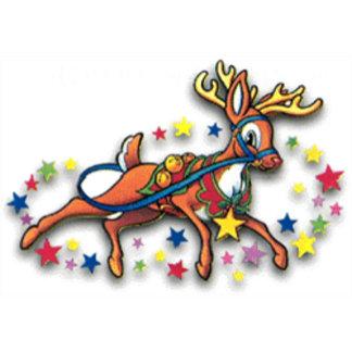 Rudolph + Reindeer
