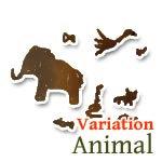 動物 バリエーション