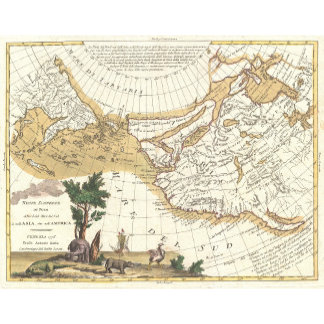 Vintage Map Posters