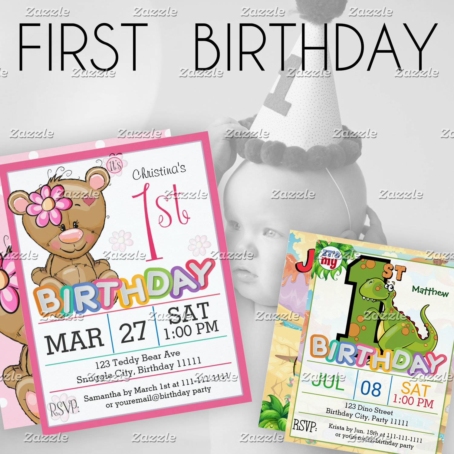 - 1st Birthday  (1-year-old)