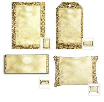 Vintage Gold Sequin