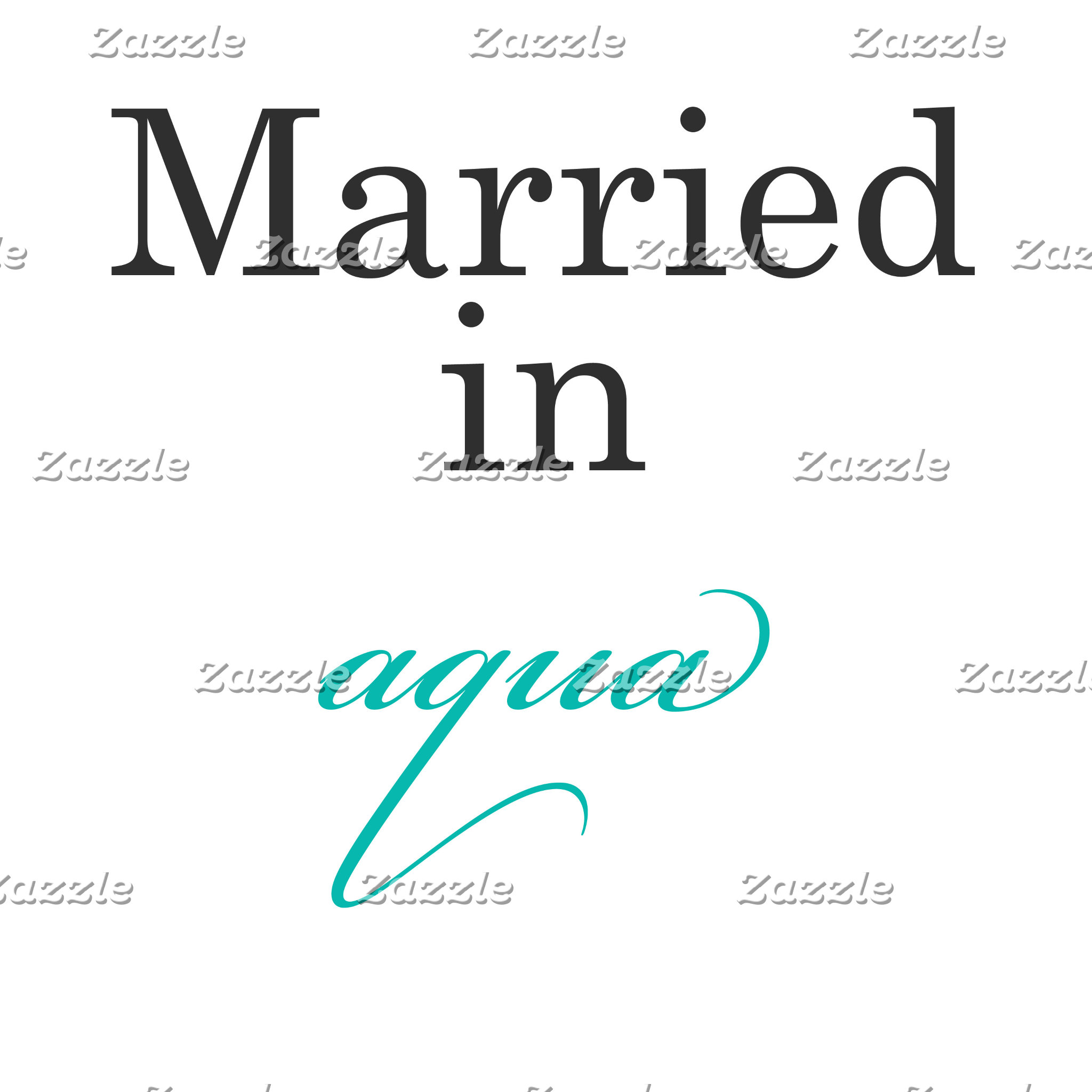 Married in Aqua
