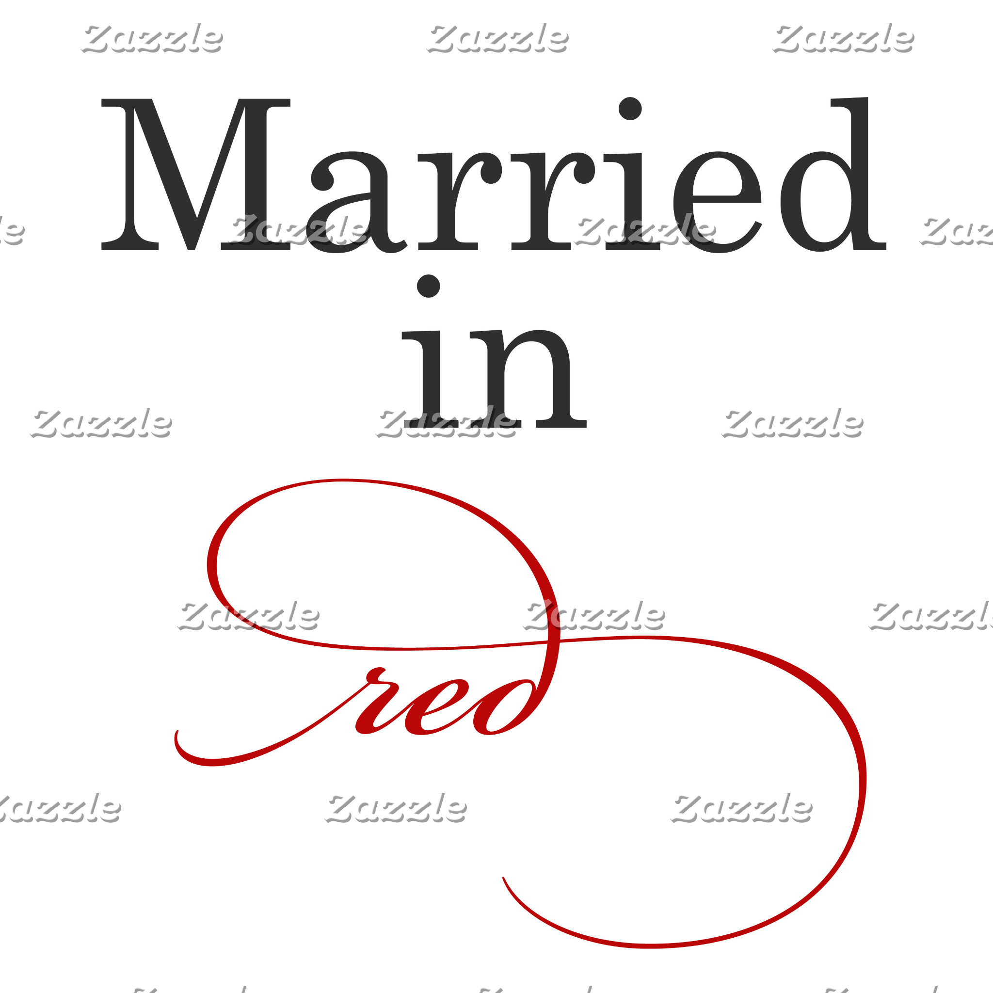 Married in Red