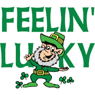 Irish - Feeling Lucky T-Shirt Gift Cards