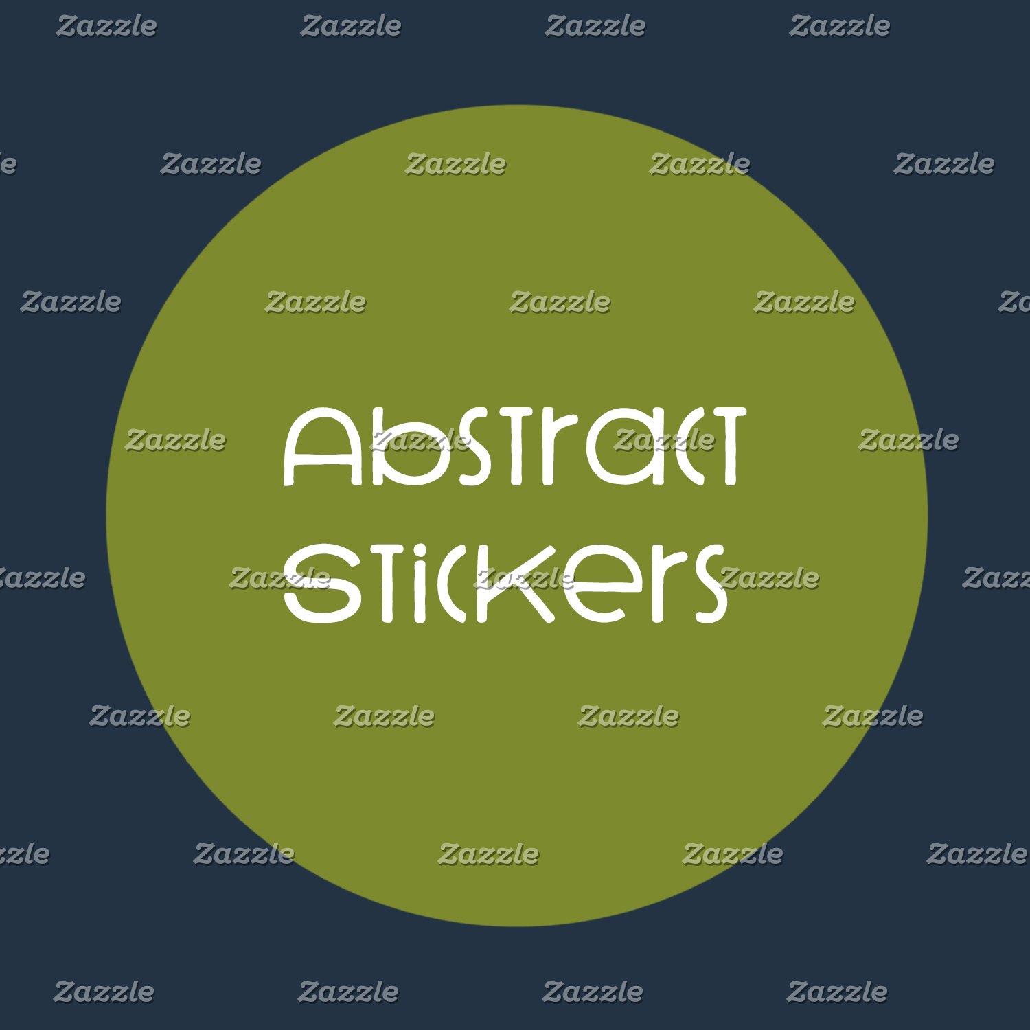 Abstract Stickers