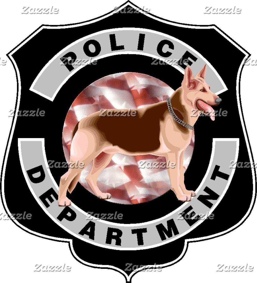 A K9 Police Officers Badge