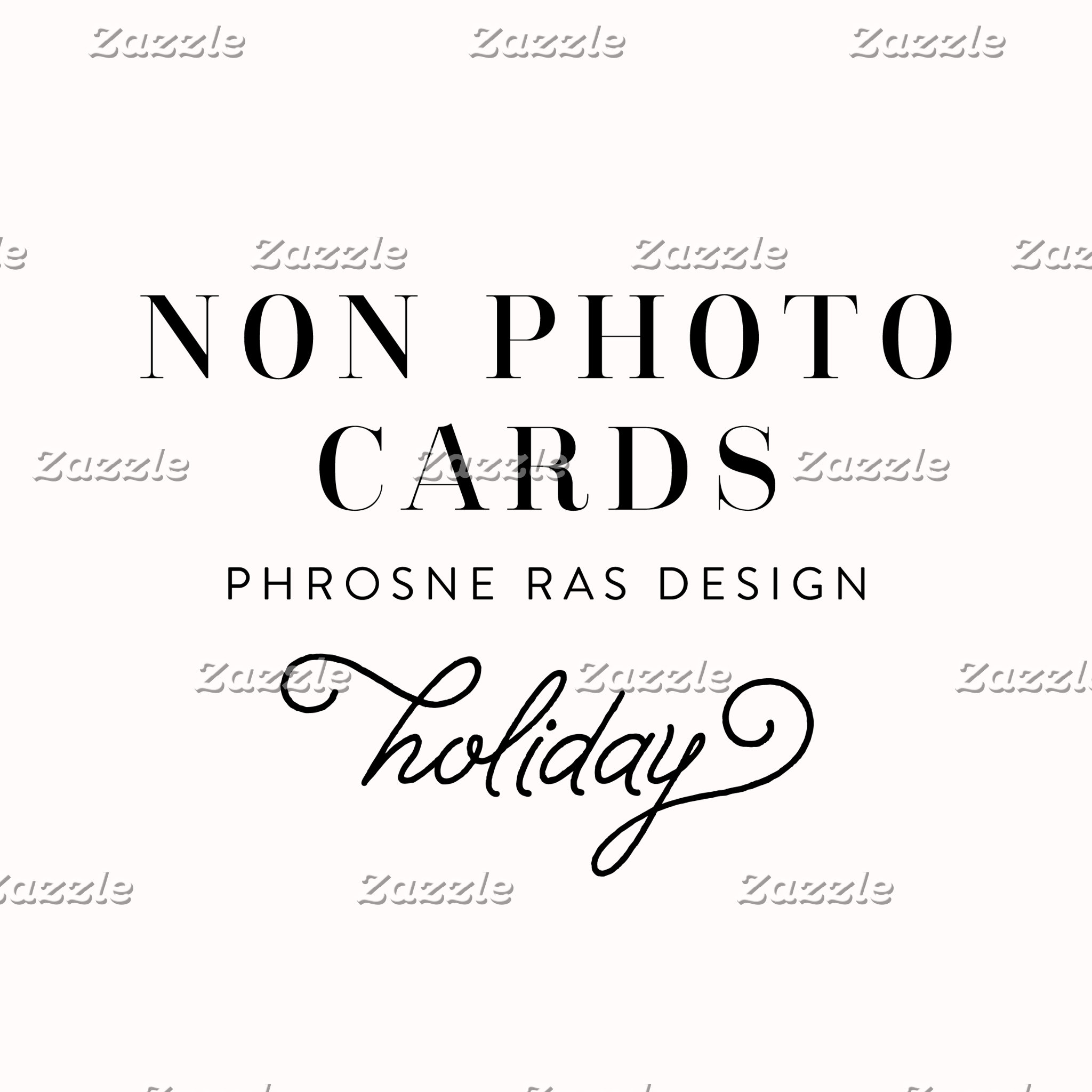 Non Photo Cards