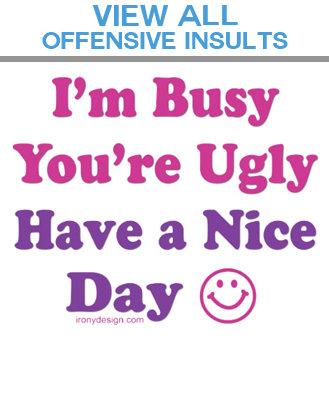 08. Insult Humor
