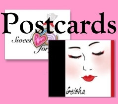 Postcards, Posters