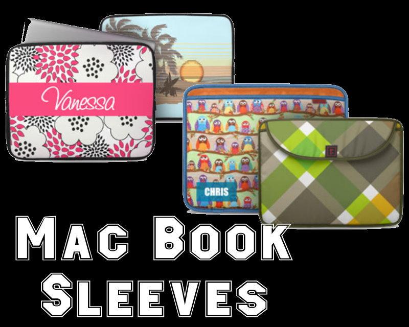 Custom Rickshaw Bagworks MacBook Sleeves