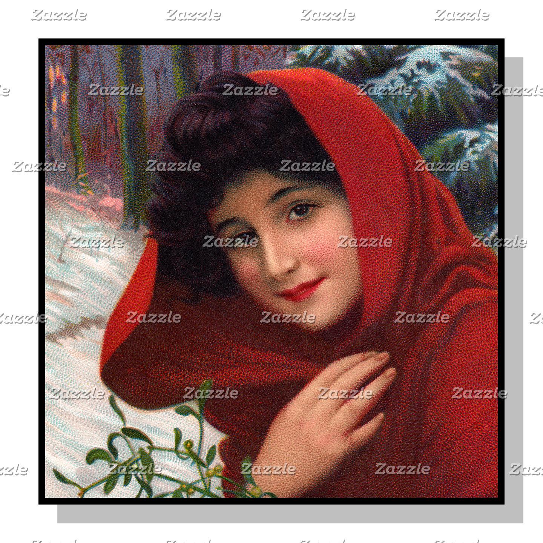 Merry Mistletoe Maiden