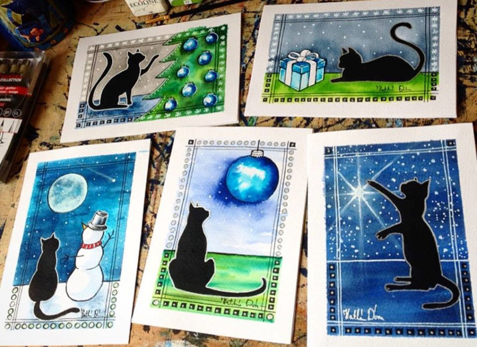 Black Cat Cards