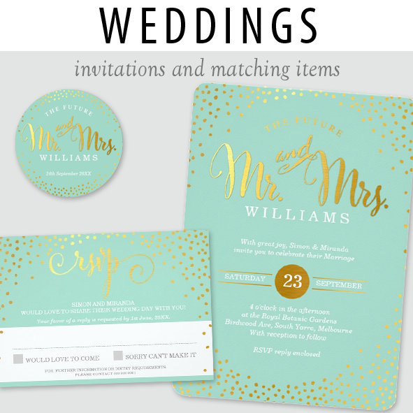 *WEDDINGS