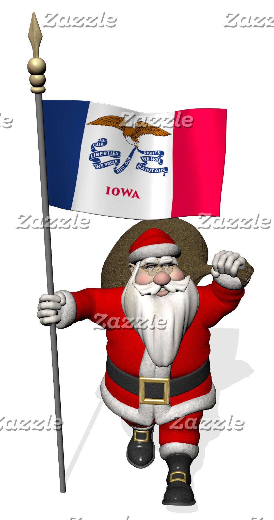 Iowa - The  Hawkeye State