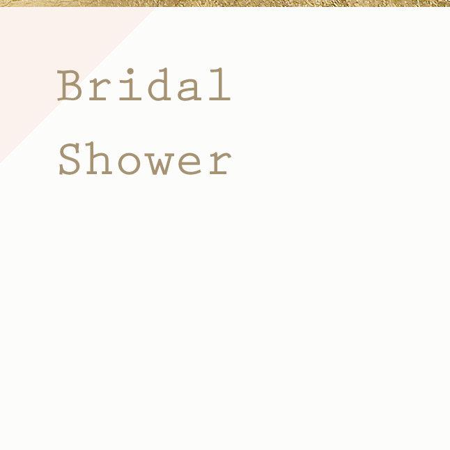 Bridal Shower Cards