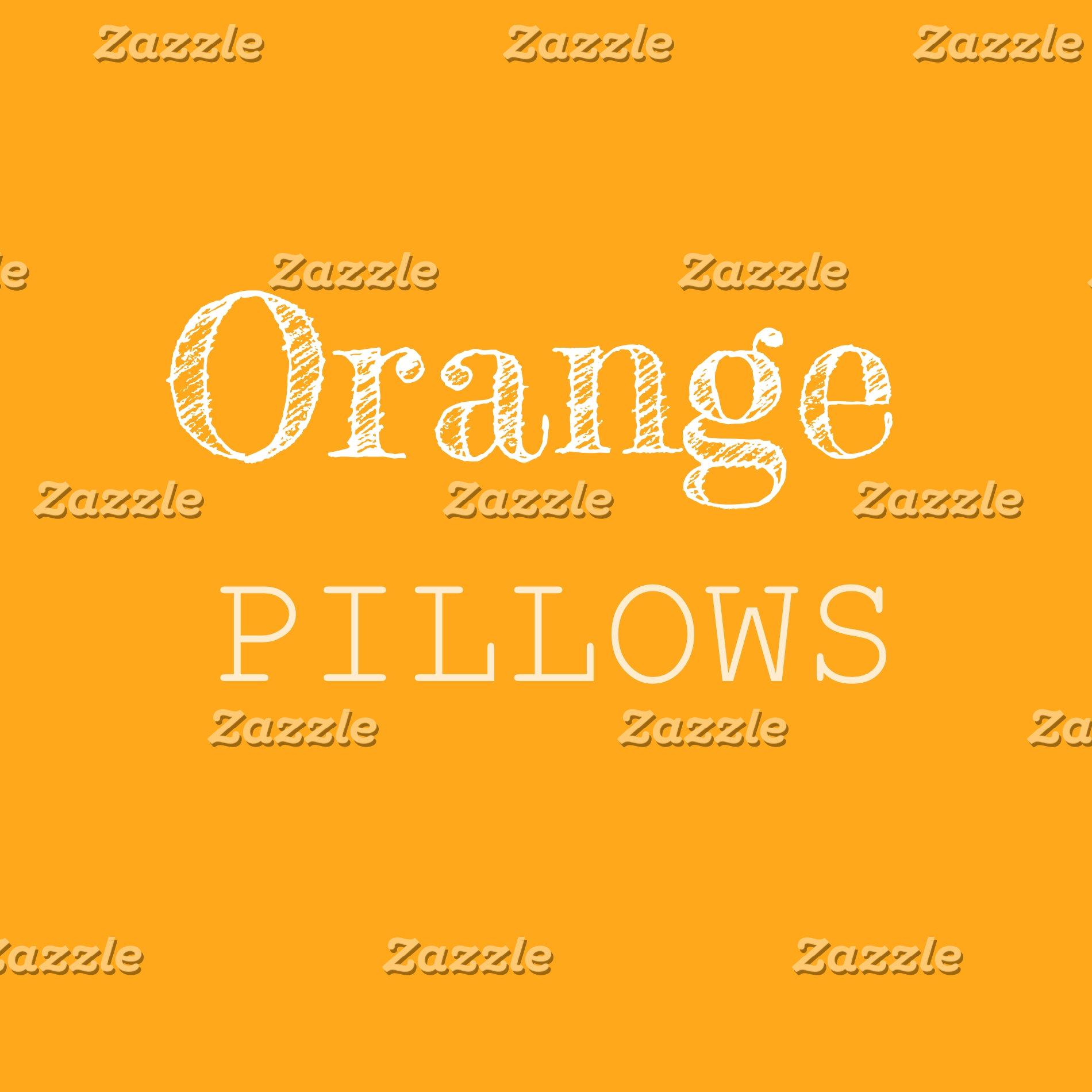 Orange & Coral Pillows