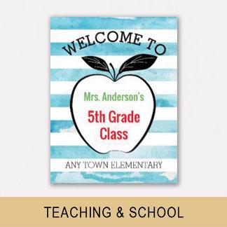 Teaching & School