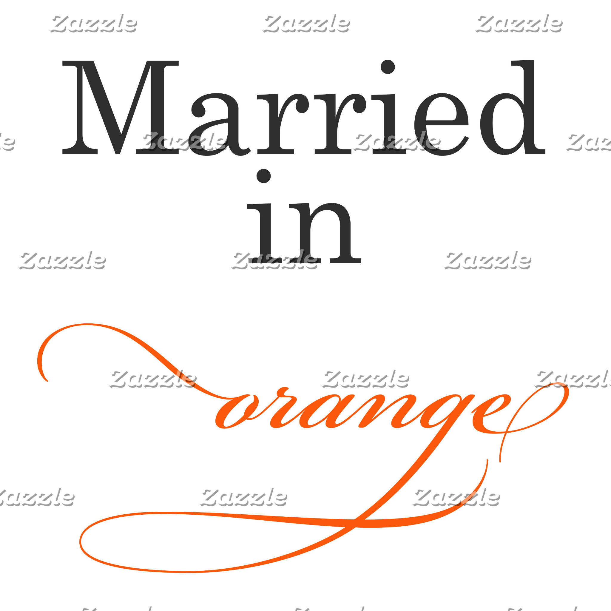 Married in Orange