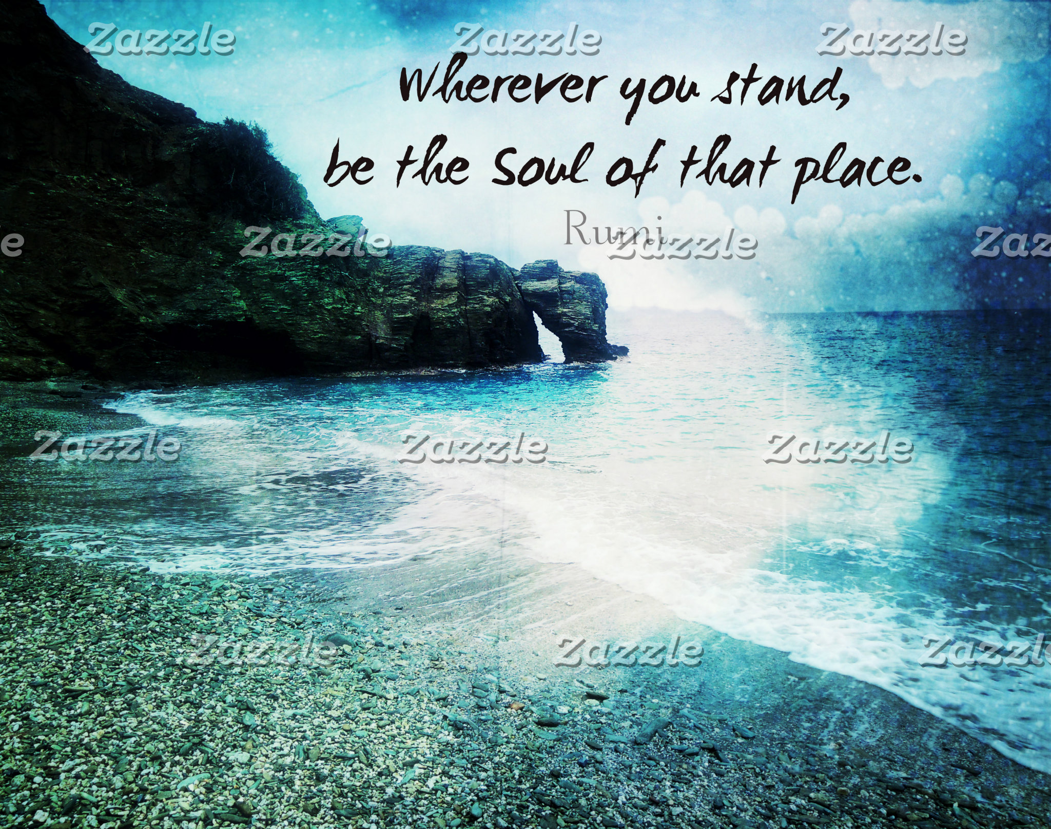 Wherever you stand, be the Soul of that place.