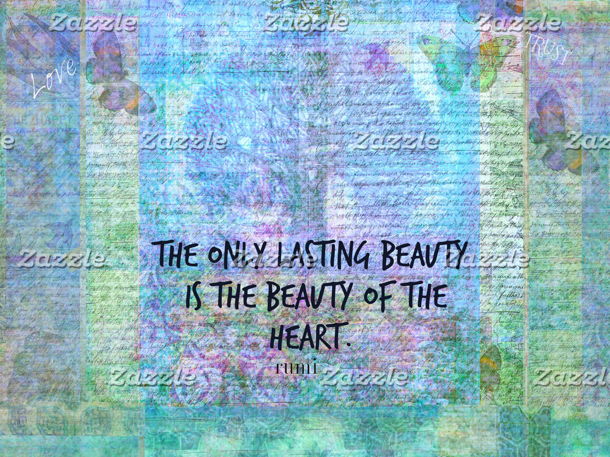 The only lasting beauty is the beauty of the heart