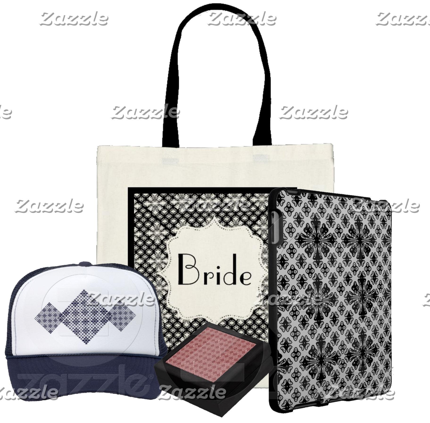 Damask & More On Wedding Favors & More: 5 designs!