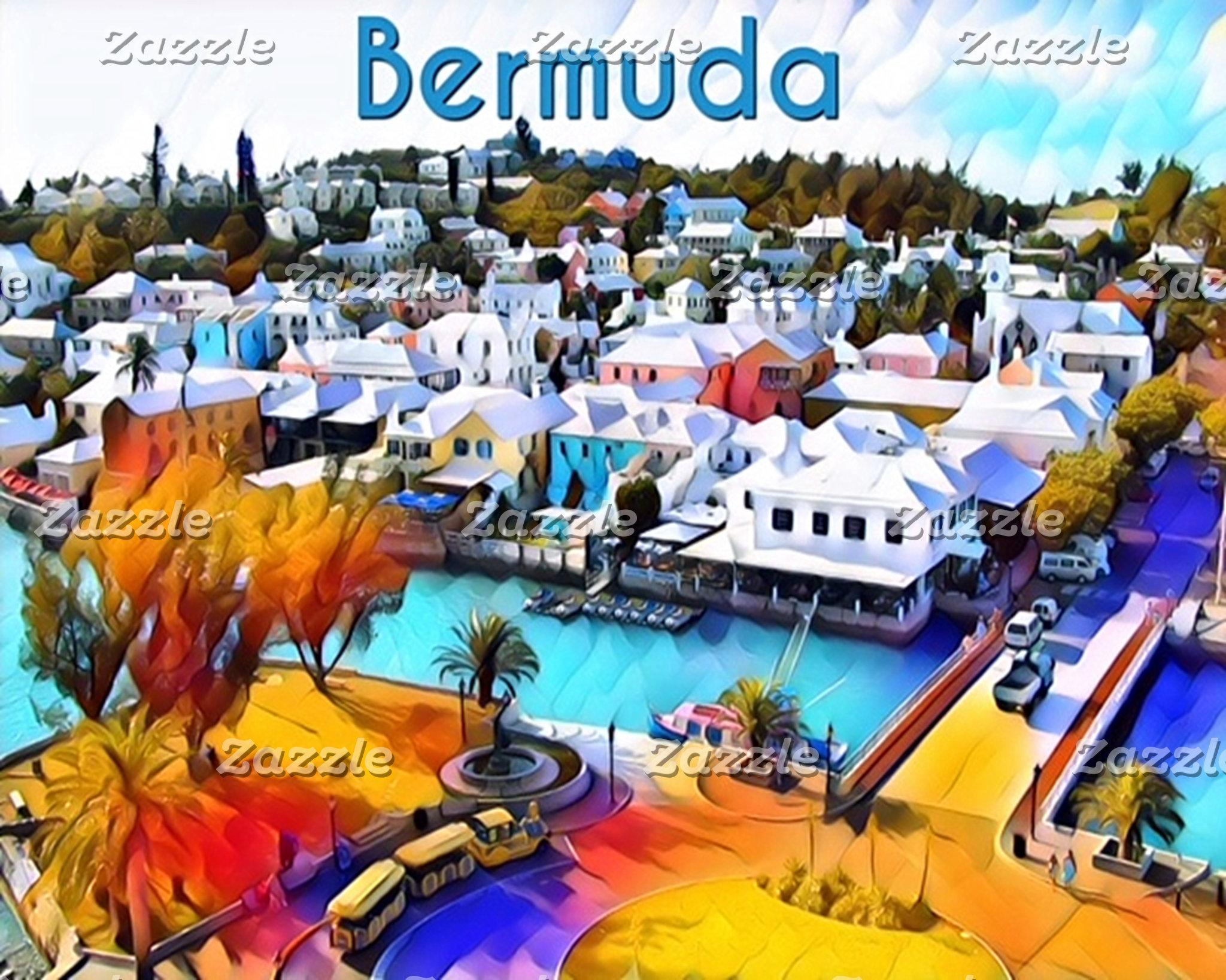 Neon Pop Art St. George Bermuda