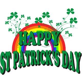 Happy St Patrick's Day T-Shirt Gift Cards