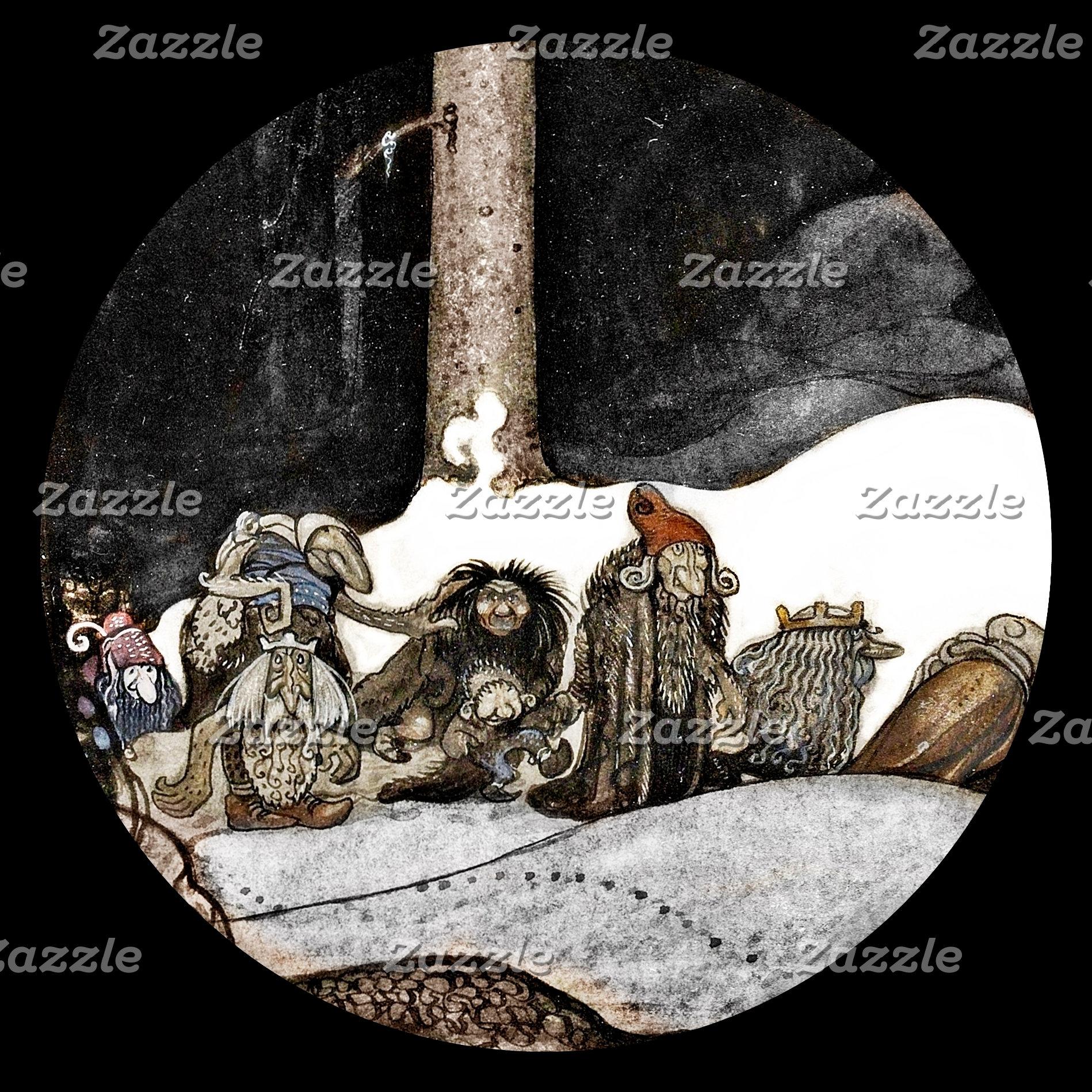 John Bauer Fairytale Art
