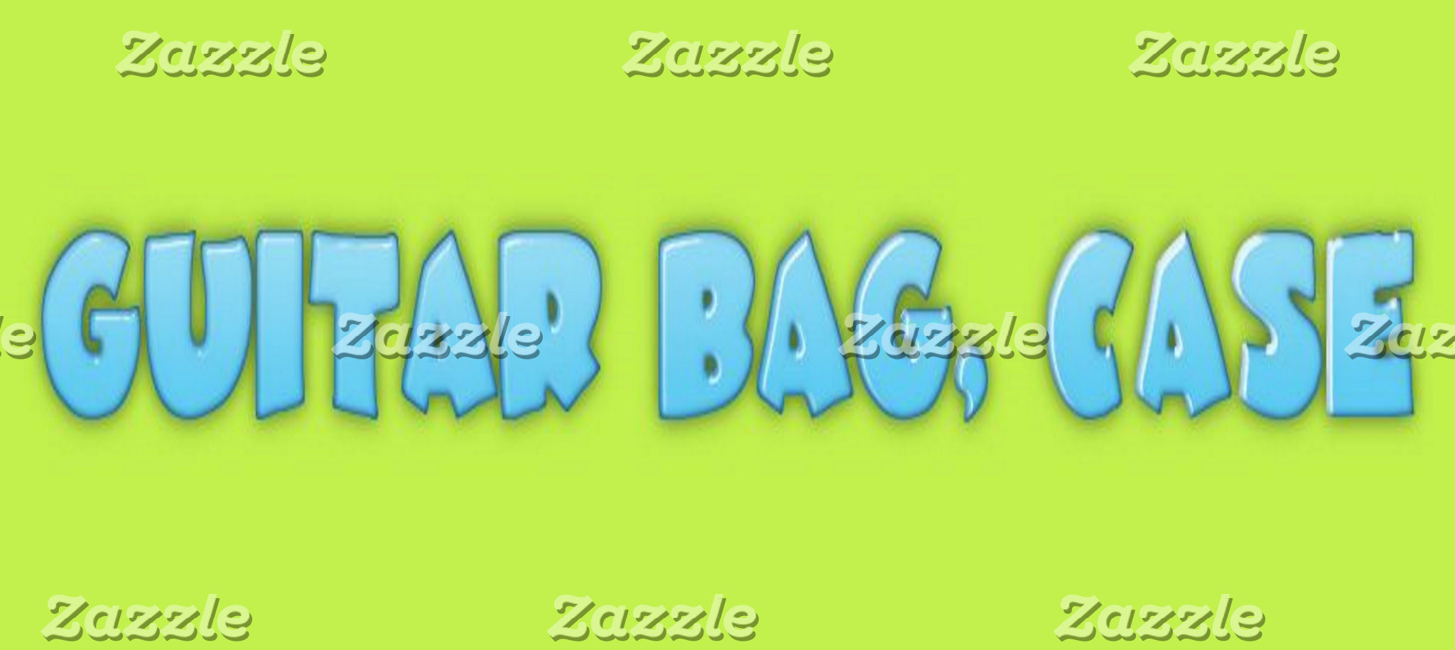 Guitar bag, case
