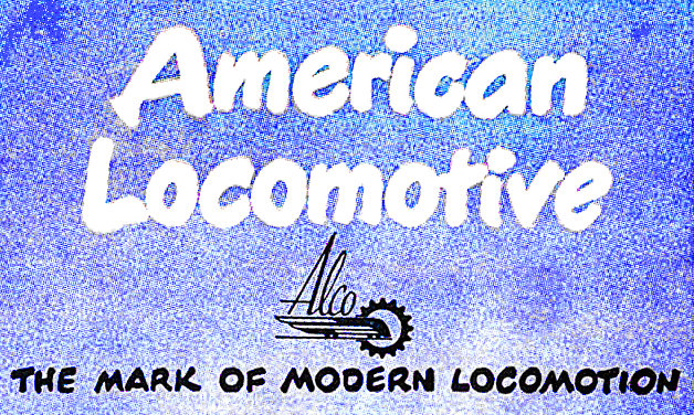 ALCO Locomotives and Train Gifts