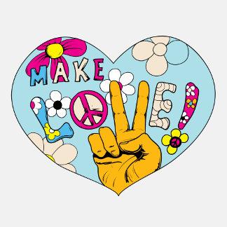 Love Peace Groovy 60s Designs