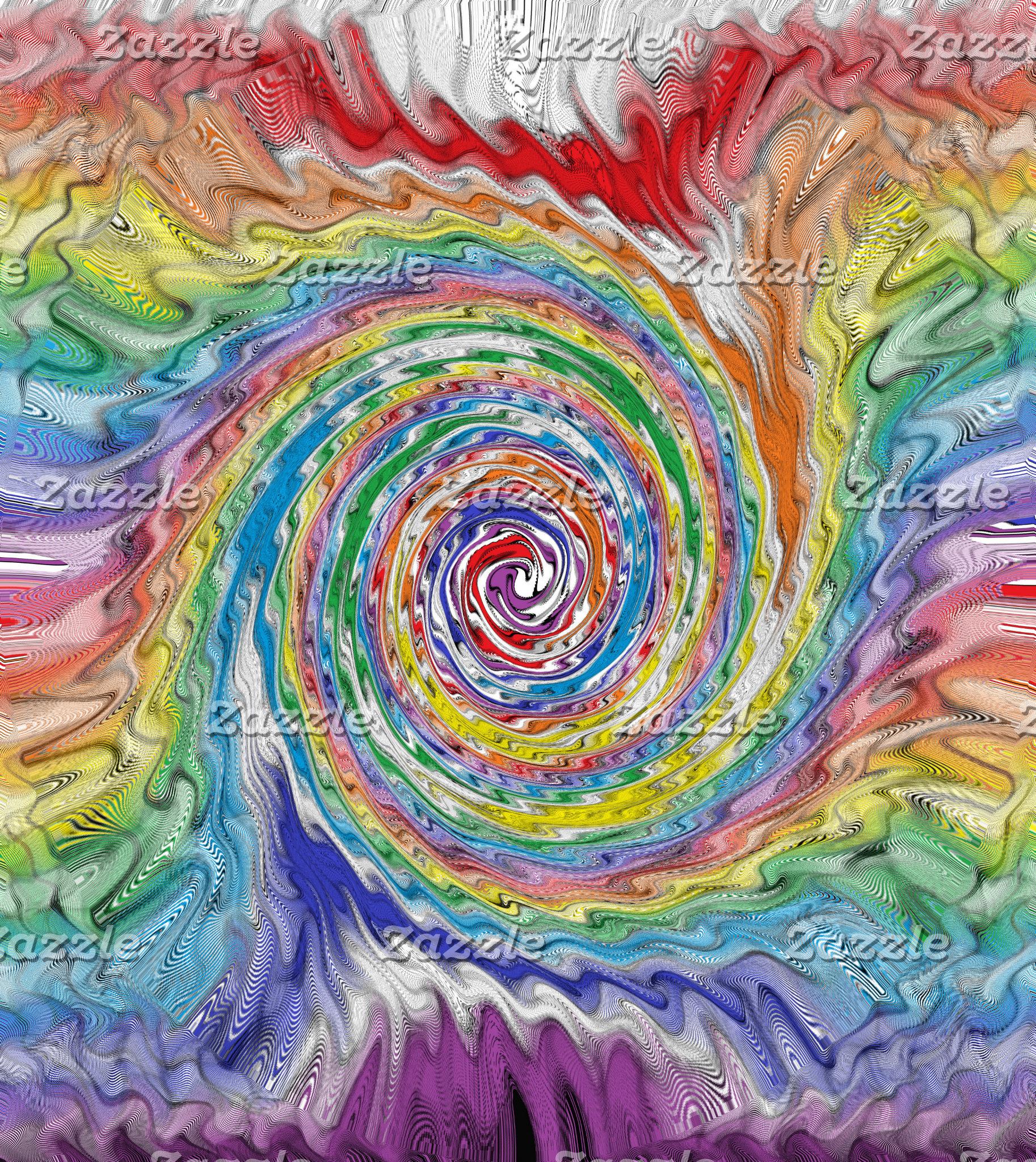 A Colorful Splatter