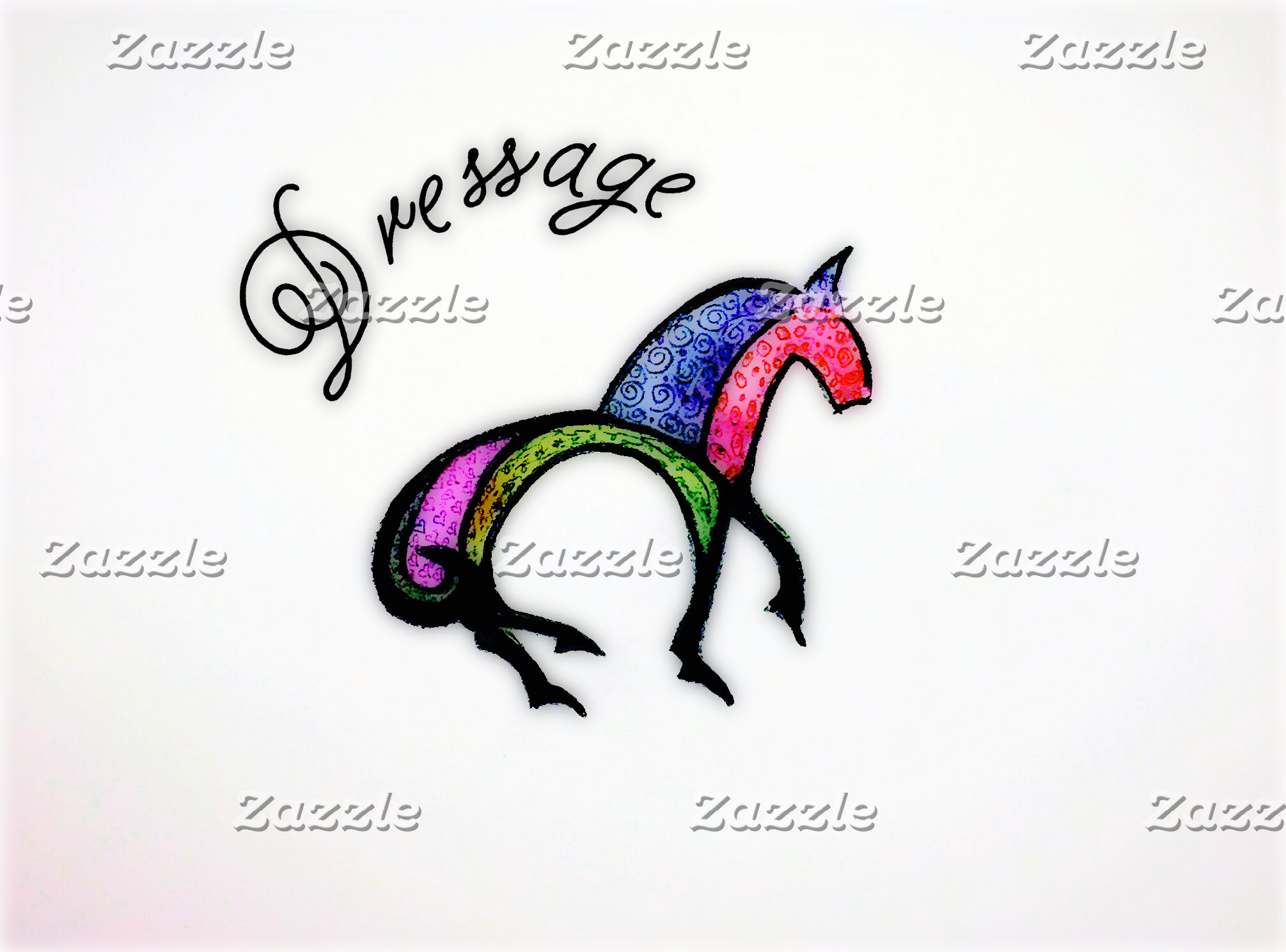 Horse-Themed Stickers