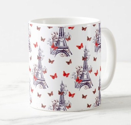 Eiffel Tower Pattern Gifts Accessories
