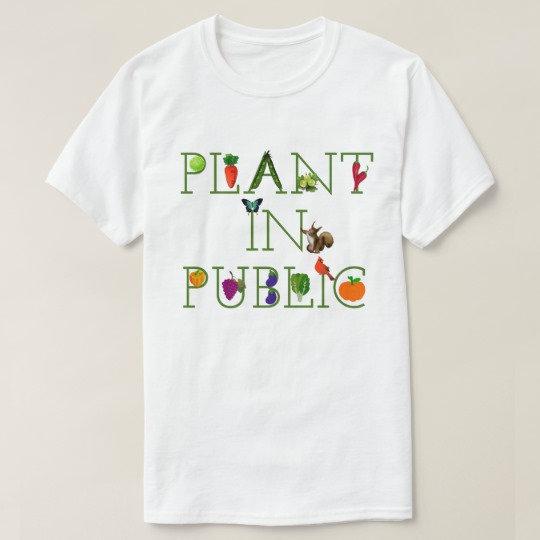 Anne's Garden Guerilla Shirts