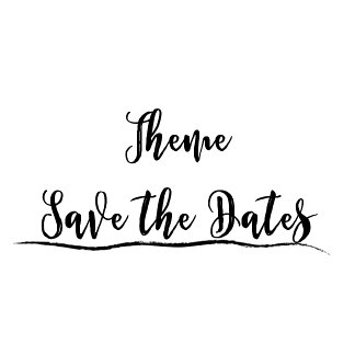 Save the Date - Themes