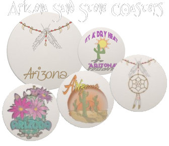 Arizona Sandstone Coasters